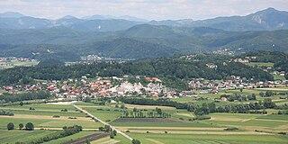 Notranje Gorice Place in Inner Carniola, Slovenia