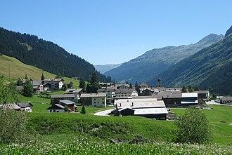 Nufenen - Image: Nufenen Dorf