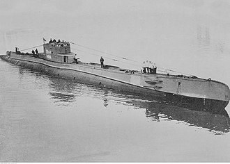 Background of the occupation of the Baltic states - Polish submarine ORP Orzeł in Rosyth in early 1940.