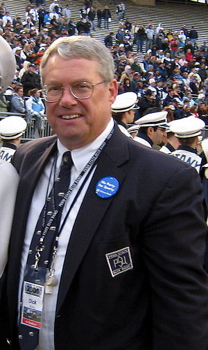 Blue Band - O. Richard Bundy, Director of Athletic Bands Emeritus at Penn State