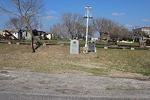 Oakville, Texas - Oakville with historic markers