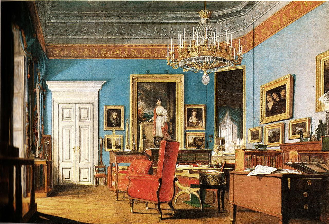 file office prince clemens von metternich. Black Bedroom Furniture Sets. Home Design Ideas