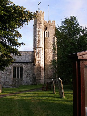 Offwell - Image: Offwell, St Mary's Church geograph.org.uk 1418802