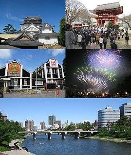 Okazaki, Aichi Core city in Chūbu, Japan