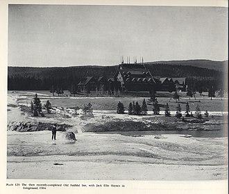 Old Faithful Inn - Image: Old Faithful Inn 1904FJHaynes
