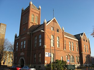 National Register of Historic Places listings in Bartholomew County, Indiana - Image: Old City Hall, Columbus, Indiana