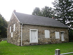 The Old Stone Church in the township, built 1808