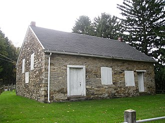 Briar Creek Township, Columbia County, Pennsylvania - The Old Stone Church in the township, built 1808