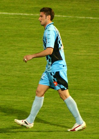 Olivier Giroud - Giroud playing for Tours in 2010