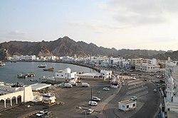 View of the Muttrah corniche, Muscat