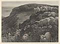 On the Hill Side (Strayed Sheep) MET DP835760.jpg