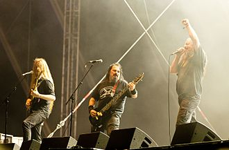 Onslaught (band) - Onslaught at Rockharz festival 2016 in Germany