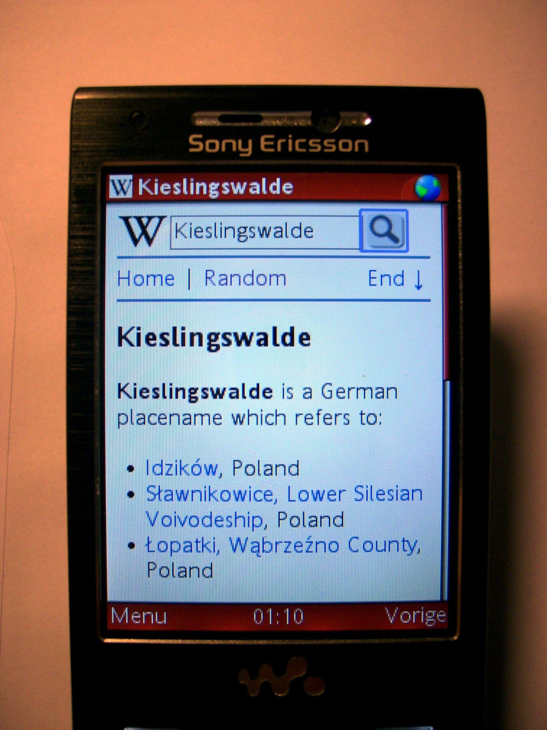 Mobile web wikipedia for Mobil wikipedia