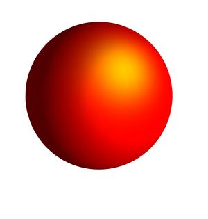 Uniformization theorem - Image: Orange Sphere