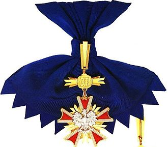 Order of Merit of the Republic of Poland - Image: Order Zasługi RP The Grand Cross