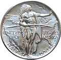 Oregon trail memorial half dollar commemorative obverse.jpg