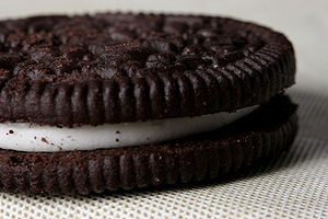 English: Oreo cookie Deutsch: Oreo Kekse
