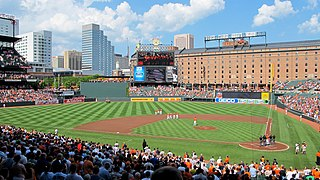 Oriole Park at Camden Yards Baseball stadium in Baltimore, MD, USA