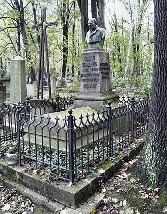 Oskar Kolberg - Grave of Oskar Kolberg at the Rakowicki Cemetery in Krakow