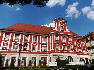 Ossolineum - The current building of the Ossolineum Institute in Wrocław