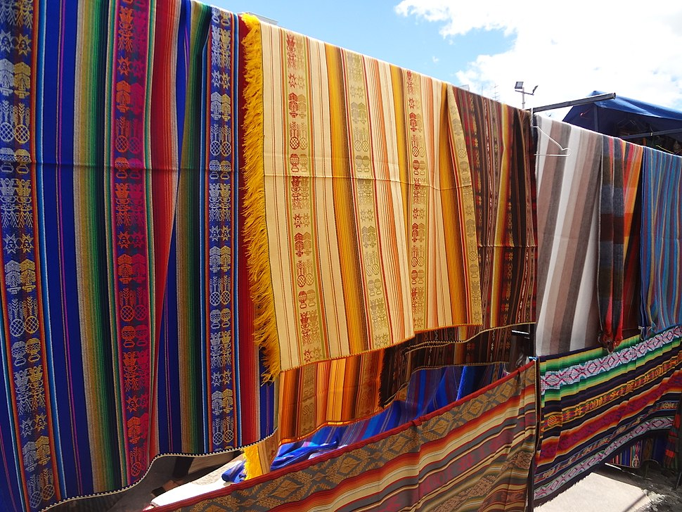 Otavalo Artisan Market - Andes Mountains - South America - photograph 001