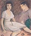 Otto - Mueller - Paar mit grünem Fächer - ca1913.jpeg