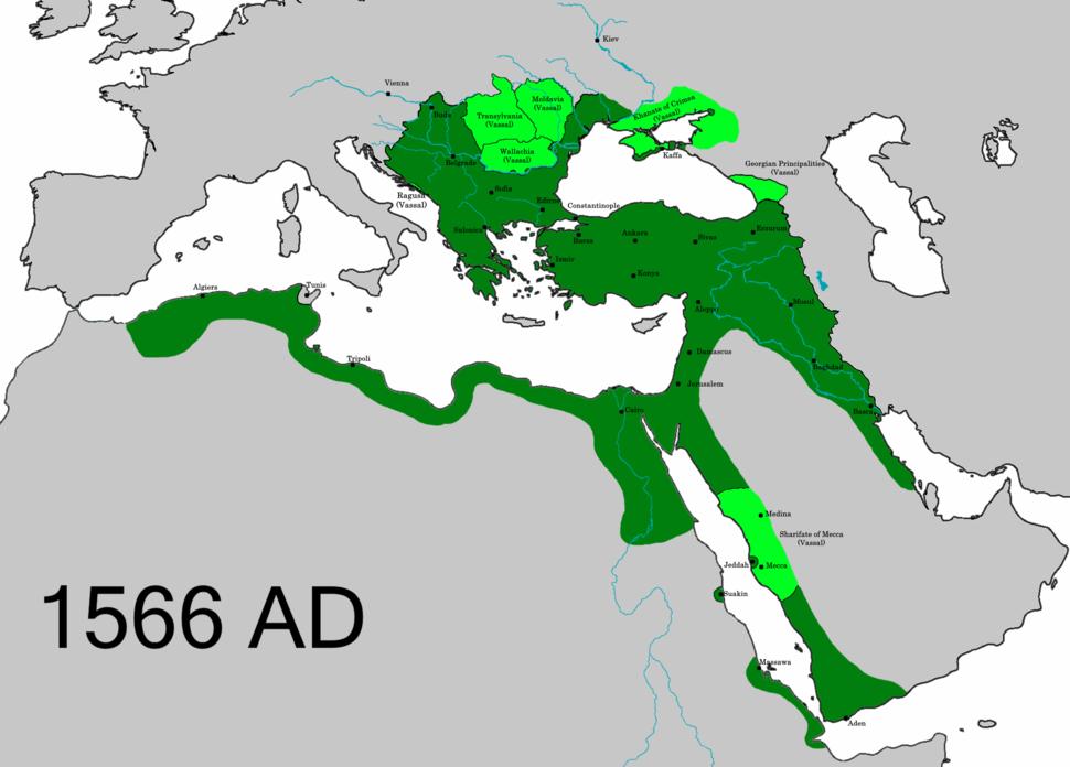 OttomanEmpire1566