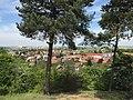 Overview of Dobřichov, Kolín District.jpg