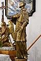 Pér, római katolikus templom, Nepomuki Szent János-szobor 2021 05.jpg