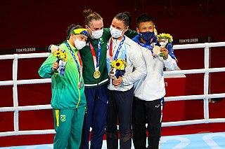Kellie Harrington Irish boxer