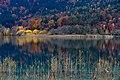 Pörtschach Halbinsel Landspitz Blick zur Kapuzinerinsel 09112014 6193.jpg