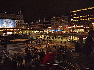 """Sergels torg - Stockholms """"Kulturfestival"""" 2011."""
