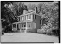 PERSPECTIVE VIEW FROM EAST SOUTHEAST - Ormiston House, Reservoir Drive, Philadelphia, Philadelphia County, PA HABS PA,51-PHILA,275-5.tif
