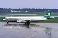 Boeing 707-340C компании Pakistan International Airlines (PIA)