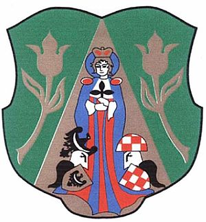 Gmina Paszowice - Image: POL gmina Paszowice COA