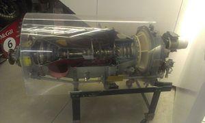 Pratt & Whitney Canada PT6 - Cutaway of a PT6 engine, McGill University