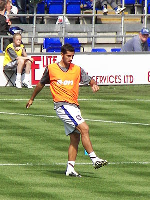 Pablo Couñago - Couñago with Ipswich Town in 2007