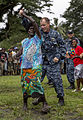 Pacific Fleet Band performs at ceremony in Arawa, Papa New Guinea 150703-M-DN141-156.jpg
