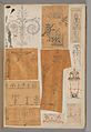 Page from a Scrapbook containing Drawings and Several Prints of Architecture, Interiors, Furniture and Other Objects MET DP372082.jpg