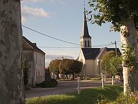 The church in Pagny-le-Château