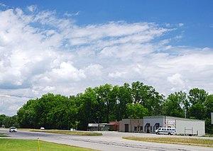Paint Rock, Alabama - Businesses along US-72 in Paint Rock