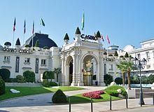 Palais de Savoie, abritant le casino d'Aix-les-Bains