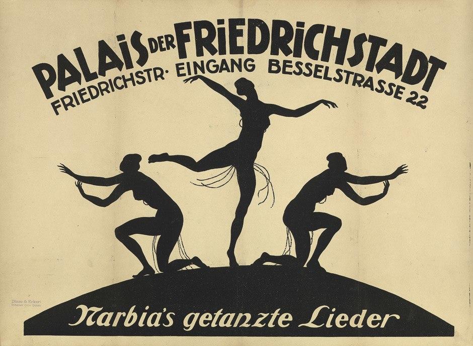Palais der Friedrichstadt Poster c1920