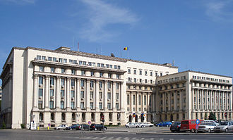Senate of Romania - Former Senate headquarters, now headquarters of the Ministry of Internal Affairs