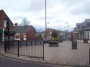 Pallion - St Luke's Terrace, the main shopping area of Pallion.