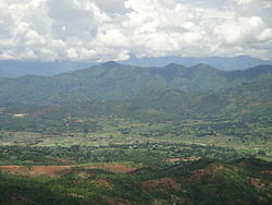 A view of Panchkhal Valley from its southern corner
