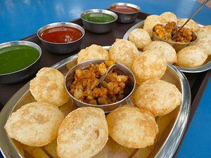 Panipuri - Image: Pani puri Gol Gappa, Foods of India