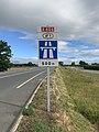 Panneau Entrée n°1 Autoroute A406 Route Madeleine Crottet 1.jpg
