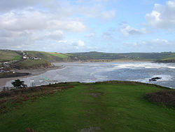 Panorama view on Burgh Island, Devon, England.jpg