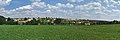 Panoramatický pohled na Žďárnou od cesty na Valchov, okres Blansko.jpg